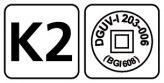 Logos K2 + DGUV-I