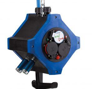 Hängeverteiler e.STATIOn mit Druckluftanschluss