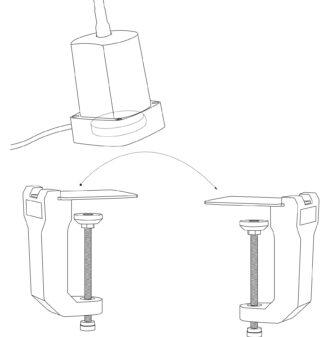Tischklemme-Magnet-Wechsel