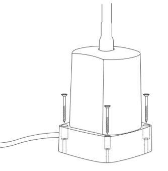 Leuchtensockel Maschinenleuchte