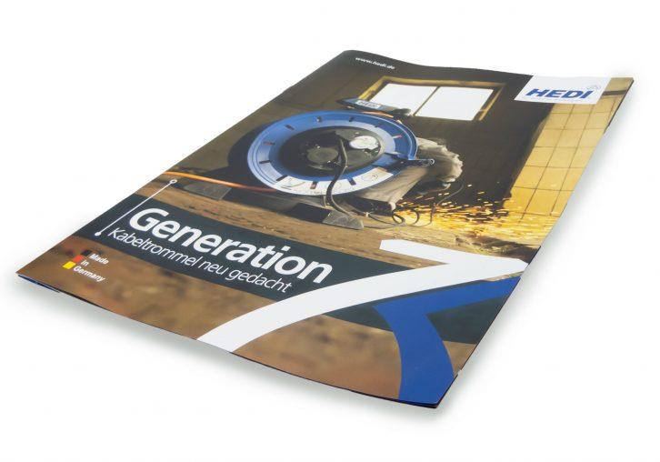 Produktbroschüre Vollkunststoffkabeltrommel Generation 7
